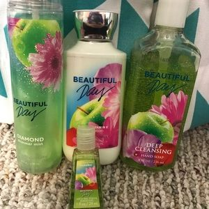Bath and Body Works - Beautiful Day lot.